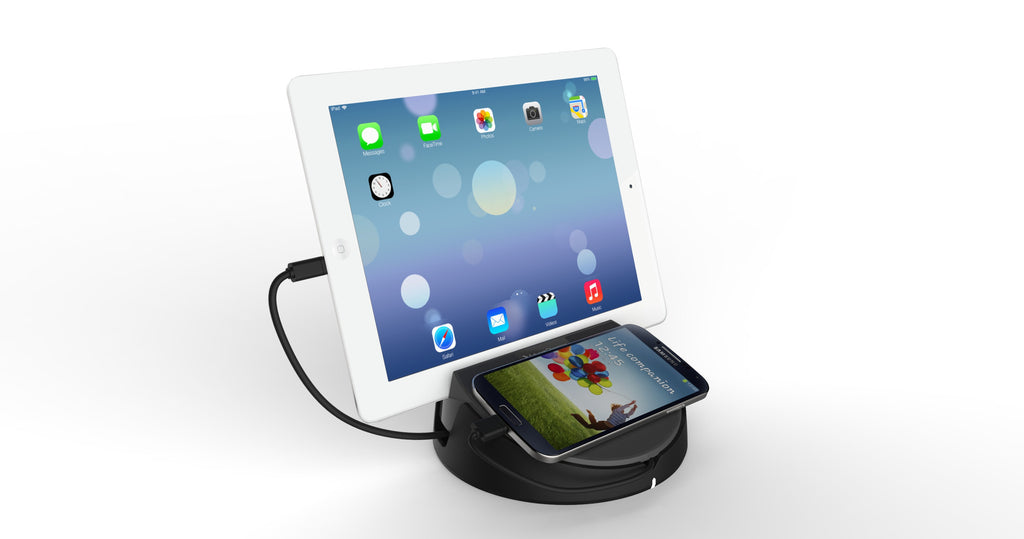 Bar Man 4 Port Universal Phone And Tablet Charging Station For Cafe And Bar  Tables ...
