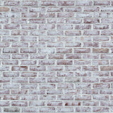 Photo Shoot Surface Grunge White Brick Wall