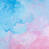 Pink and Blue Abstract Painting Backdrop