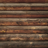 Rough Wood Logs Texture Floor Backdrop