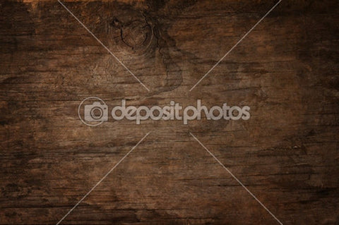 Dark Brown Wood Theme Print Photography Backdrop