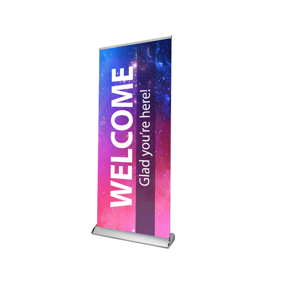 Church Welcome Design Retractable Banner Stand