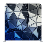 3D Render Abstract Shape Media Wall