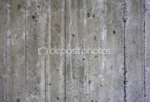Uneven Concrete Theme Indelible Print Fabric Backdrop