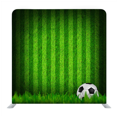 3d rendering of soccer ball with line on soccer field Media wall