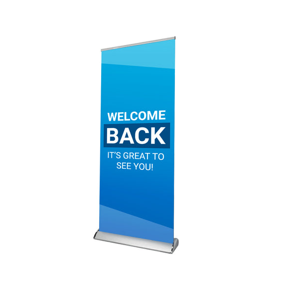 Church Welcome It's Great To See You Retractable Banner Stand
