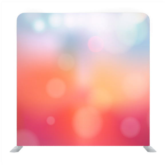 Abstract Vivid Bokeh Circles In Soft Color Style Background Media Wall