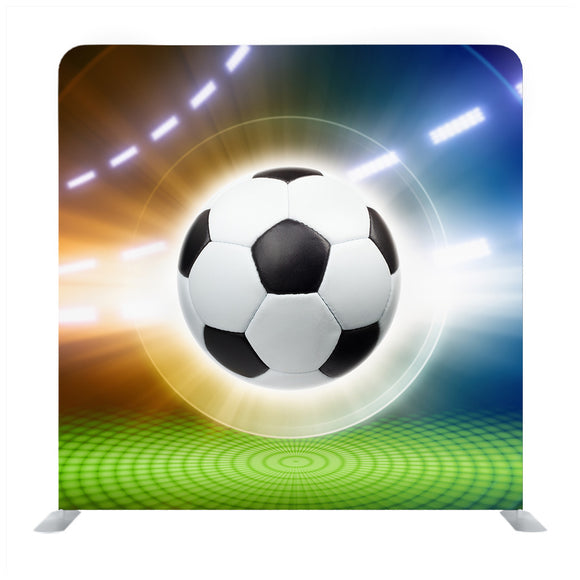 Background football vector Media wall
