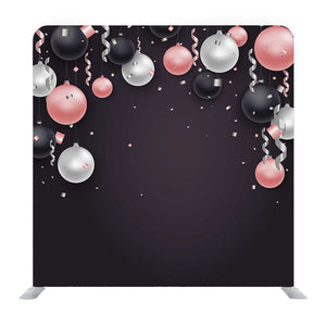 Balloons Illustration Media Wall