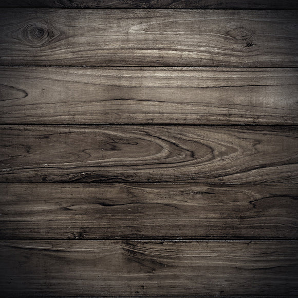 Big Dark Wood Plank Wall Texture Background