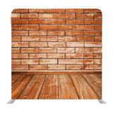 Bricks Wall and Wood Floor Media Wall