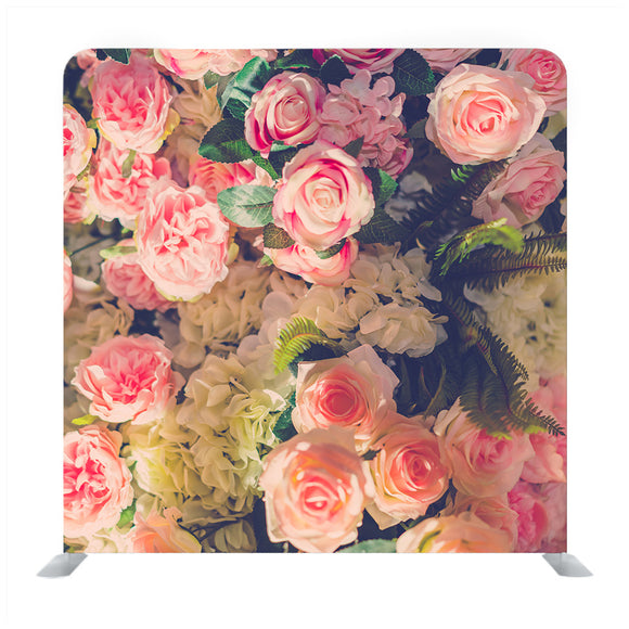 Bunch Of Pink Rose Backdrop