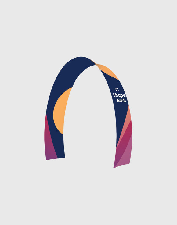 C Shape Tension Fabric Arch