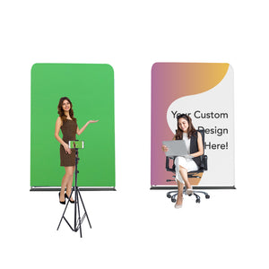 Chroma Green/Customized Design Backdrop for Backgrounds (Size 2m wide x 2.3m high)