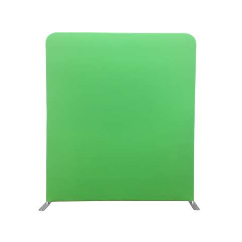 Chroma Green/White Backdrop for Backgrounds (Size 2m wide x 2.3m high)