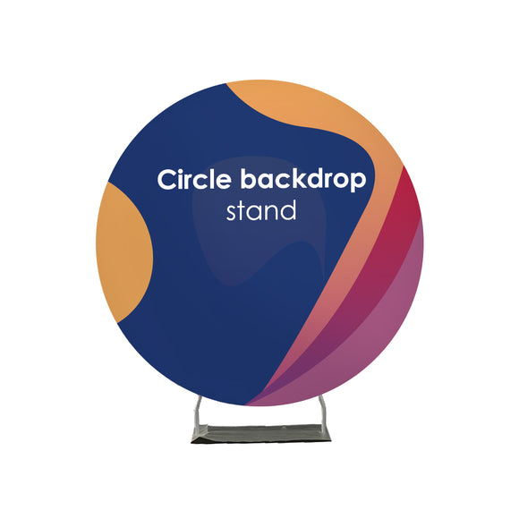 Circle backdrop stand