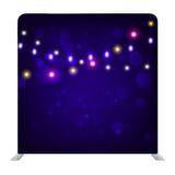 Dark Blurred Lights Background Backdrop