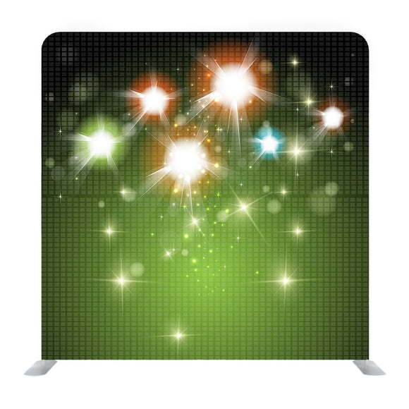 Dazziling Light Background Media Wall