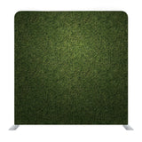 Deep green color Grass pattern Backdrop