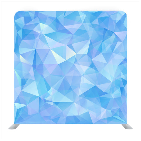 Geometric Triangle Pattern Media Wall