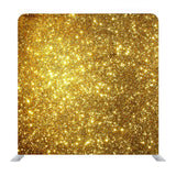Gold and Black Glitter Media Wall