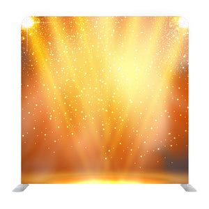 Golden Abstract Sparkles Or Glitter Lights background Media Wall