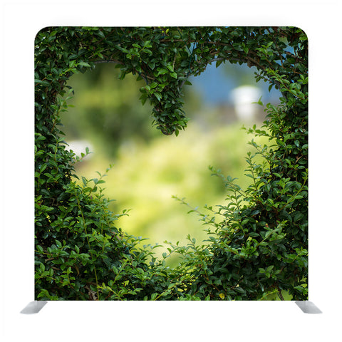 Green Heart  Backdrop