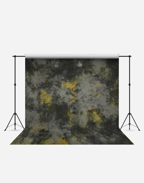 Grungy Green Patch Fashion Wrinkle Resistant Backdrop