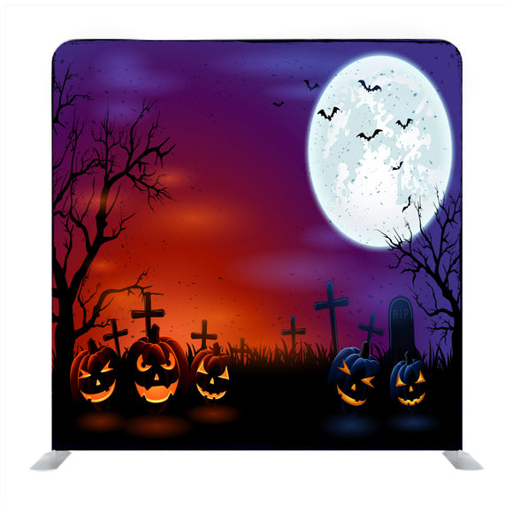 Halloween Poster Background Media Wall