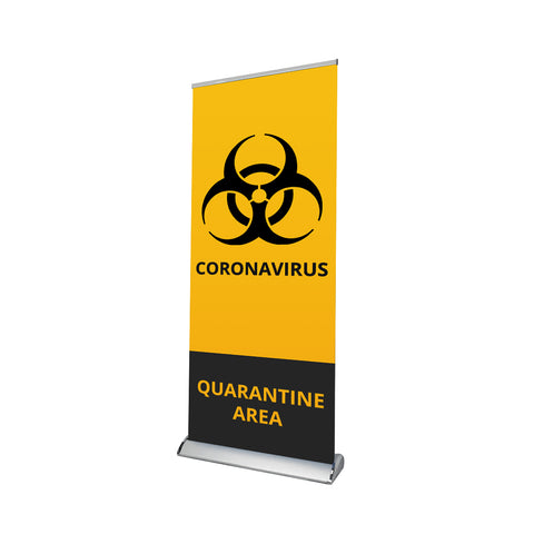 Hospital / Clinic Sign Retractable Banner - 04