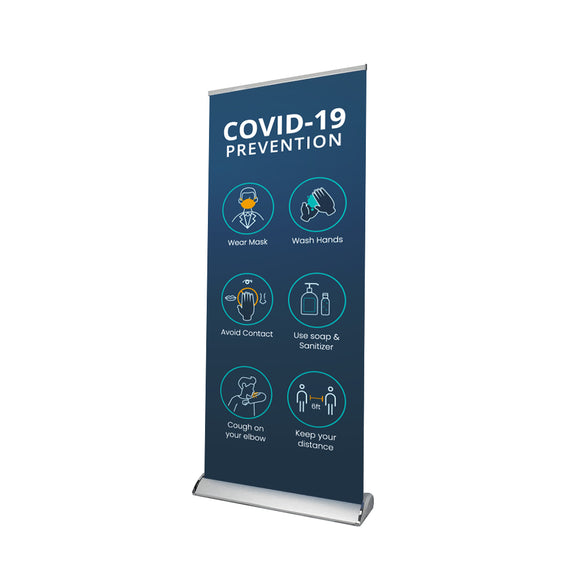 Hospital / Clinic Sign Retractable Banner - 01