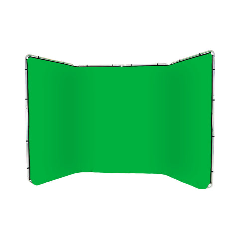 Panoramic Background Chroma Green 4m wide