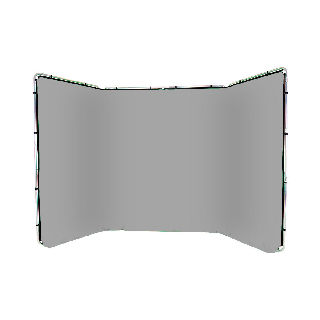 Panoramic Background Gray 4m wide