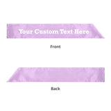 Custom Printed Sashes