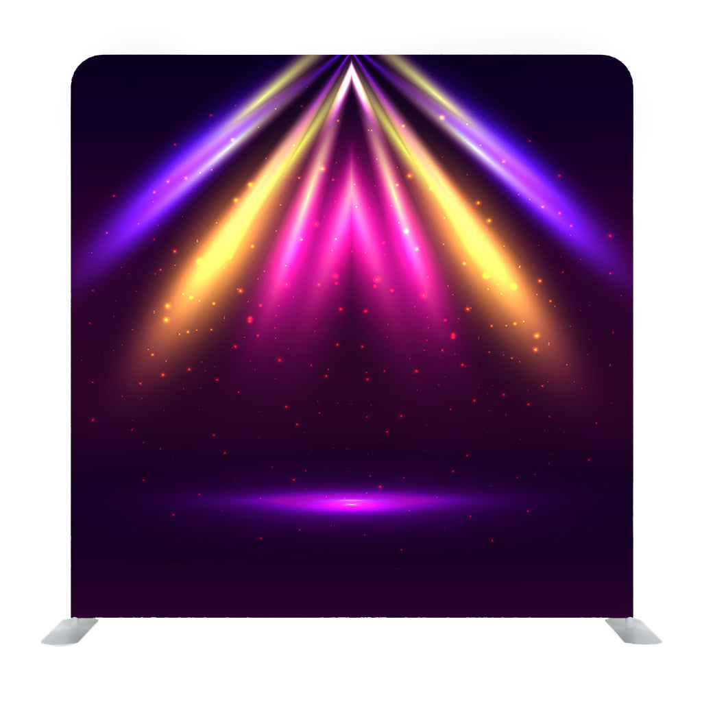 Light Purple Pink And Yellow Vector Abstract Shining Layout Media Wall