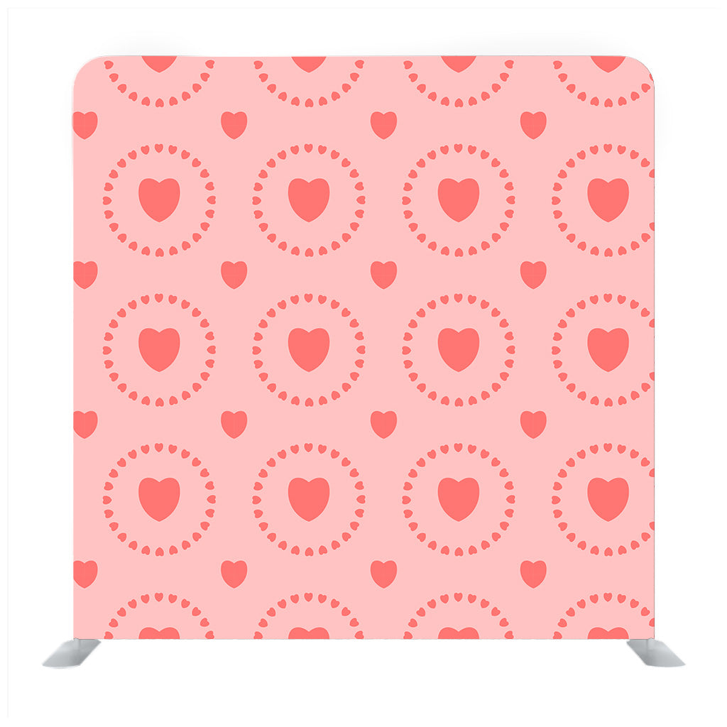 Love hearts Pattern Backdrop
