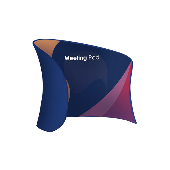Meeting Pod Fabric Display