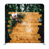 Mr _ Mrs Top Table Decor with Wood Media Wall