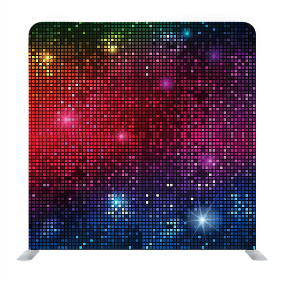 Multi Colour Tiny Square Backdrop