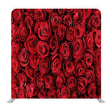 Natural Red Roses Background Media Wall