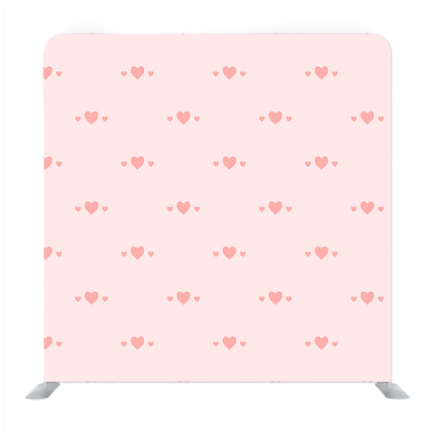 Pattern of Pink Hearts Media wall