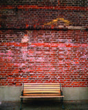 Pew Brick Grunge Print Photography Backdrop