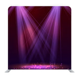 Pink Stage Bright Light Background Media Wall