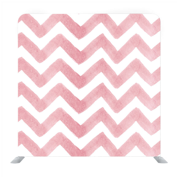 Pink watercolor brush stroke Painted zigzag grunge stripes Backdrop