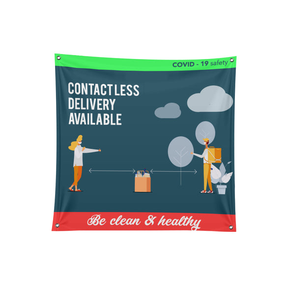 Food Safety Fabric Banner - 01