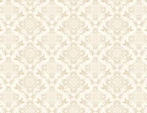 Seamless Floral Ornament Wallpaper