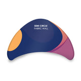 Semi-circle Meeting pod fabric display