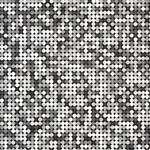 Silver Abstract Retro Vintage Pixel Mosaic Glitter Background