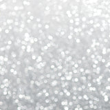 Silver Glitter Christmas Abstract Bokeh Background