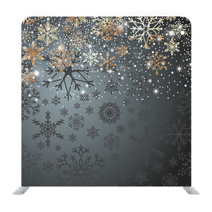 Snowflakes On Background Media Wall